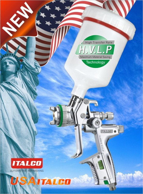 H-4000 B H.V.L.P DIGITAL spray gun