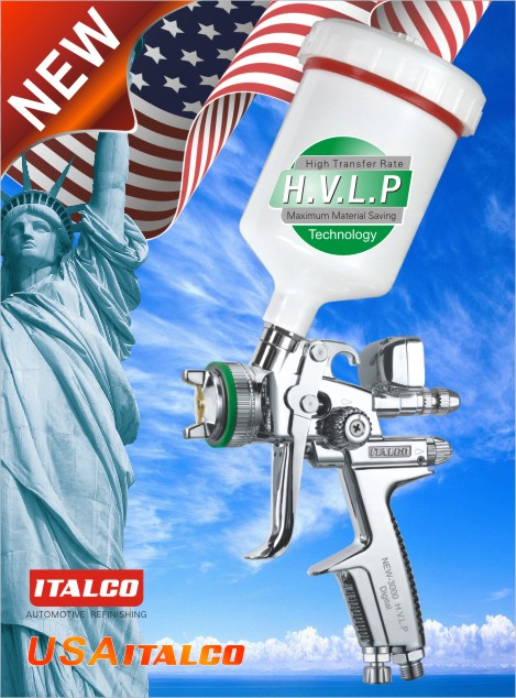 NEW-3000 H.V.L.P DIGITAL spray gun