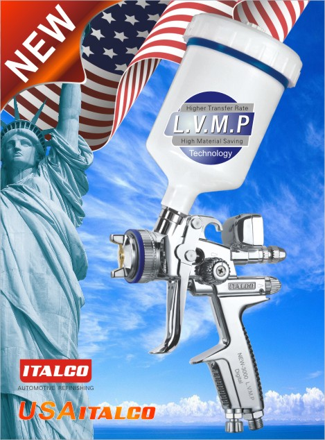 NEW-3000 L.V.M.P DIGITAL spray gun