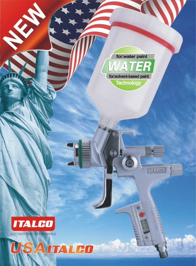 H-5000 Digital  Water-borne Spray Gun