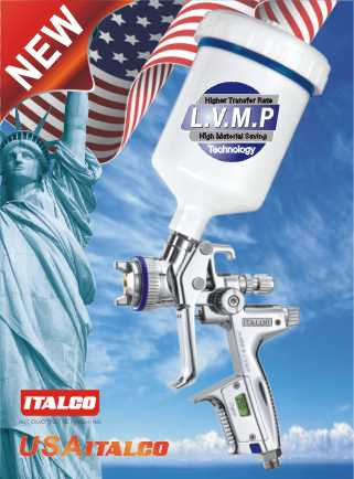 H-4000 B L.V.M.P DIGITAL spray gun