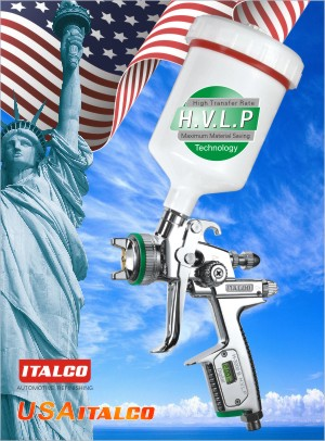 H-3000 B H.V.L.P DIGITAL spray gun