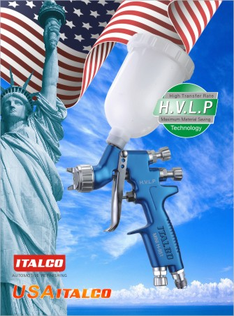 MINI H-951 H.V.L.P spray gun