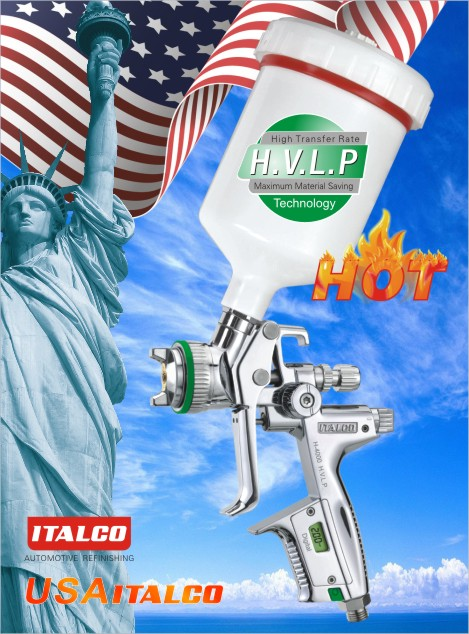 H-4000  H.V.L.P DIGITAL spray gun