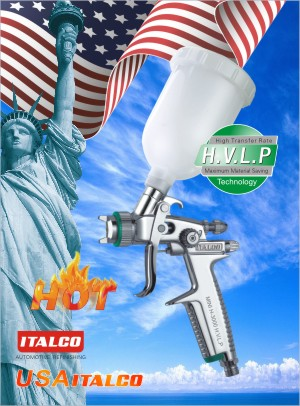 MINI H-3000 H.V.L.P spray gun