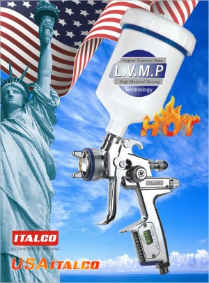 H-3000 L.V.M.P DIGITAL spray gun